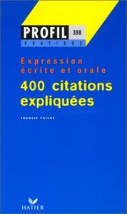 400 citations expliquees