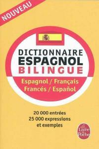 Dictionnaire livre de poche frances/espa