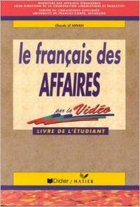 Francais des affaires livre