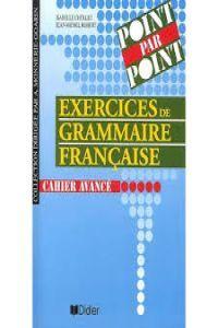 Cours de grammaire francaise livre