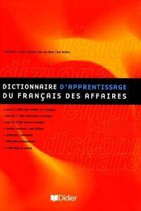 Dictionnaire dapprentissage francais affaires
