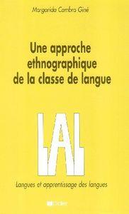Une approche ethnographique classe langue etrangere