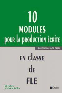 10 modules pour lexpresion ecrite classe fle