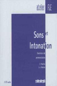Sons et intonation cds audio (3cds)