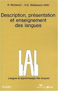 Description presentation enseinement langues