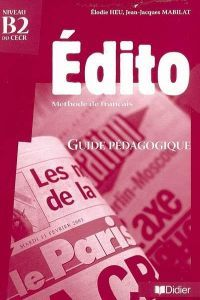 Edito b2 guide pedagogique