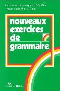 Nouveaux exercices grammaire                      ede99pp