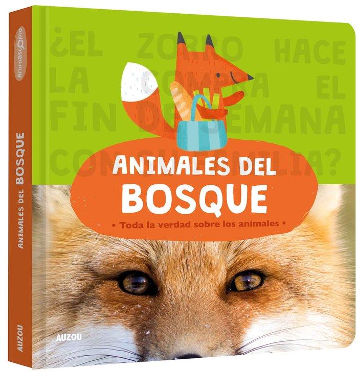 Animascopio, animales del bosque
