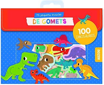 Mi pequeño estuche de gomets dinosaurios