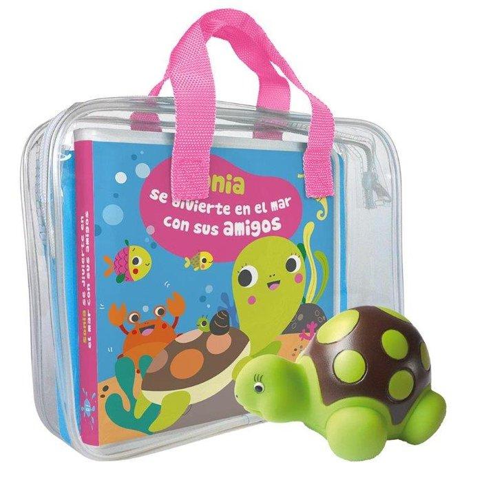 Libro baño sofia la tortuga