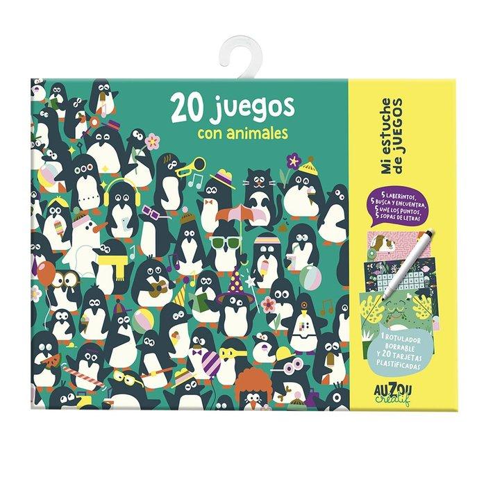 Mi estuche de juegos. 20 juegos con los animales