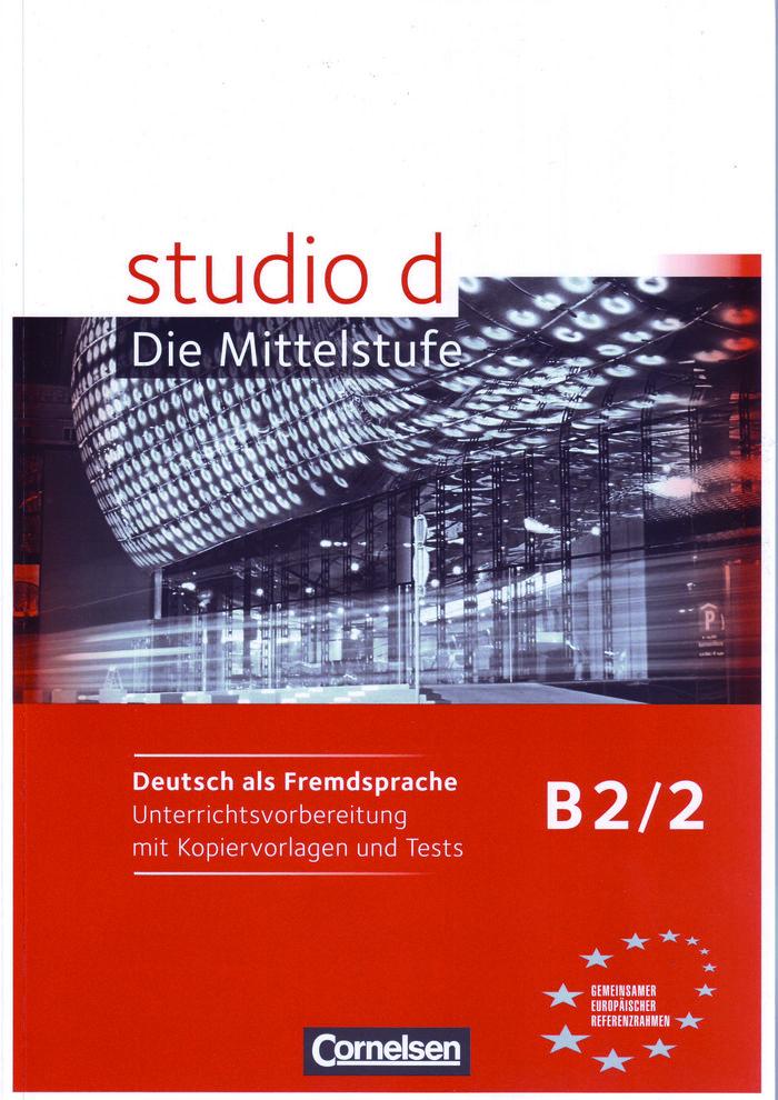 Studio d b2/2 libro profesor