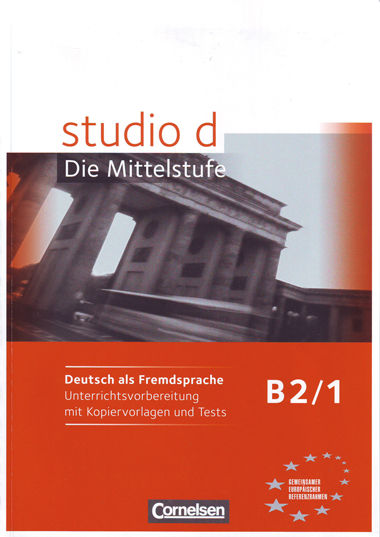Studio d b2 band 1 libro profesor
