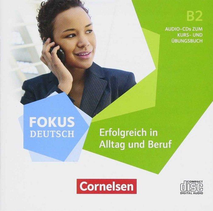 Alltag und beruf b2 audio cd fokus deutsch b2