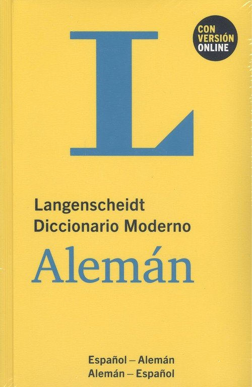 Langenscheidt diccionario moderno aleman español