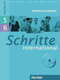 Schritte international 5+6 intensivtr+cd