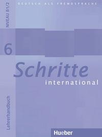 Schritte international 6 lehrerh profesor