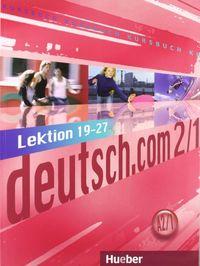 Deutsch.com a2.1 kursbuch (l.19-27)xxl+glosario