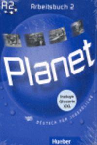 Planet 2 arbeitsbuch+gloss español