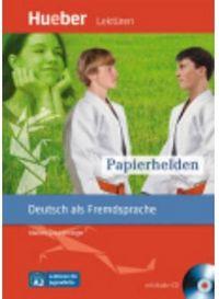 Leseh a2 papierhelden libro cd