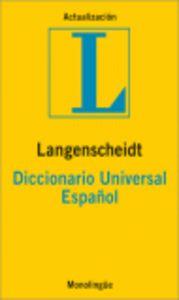 Dic.universal español langenscheidt