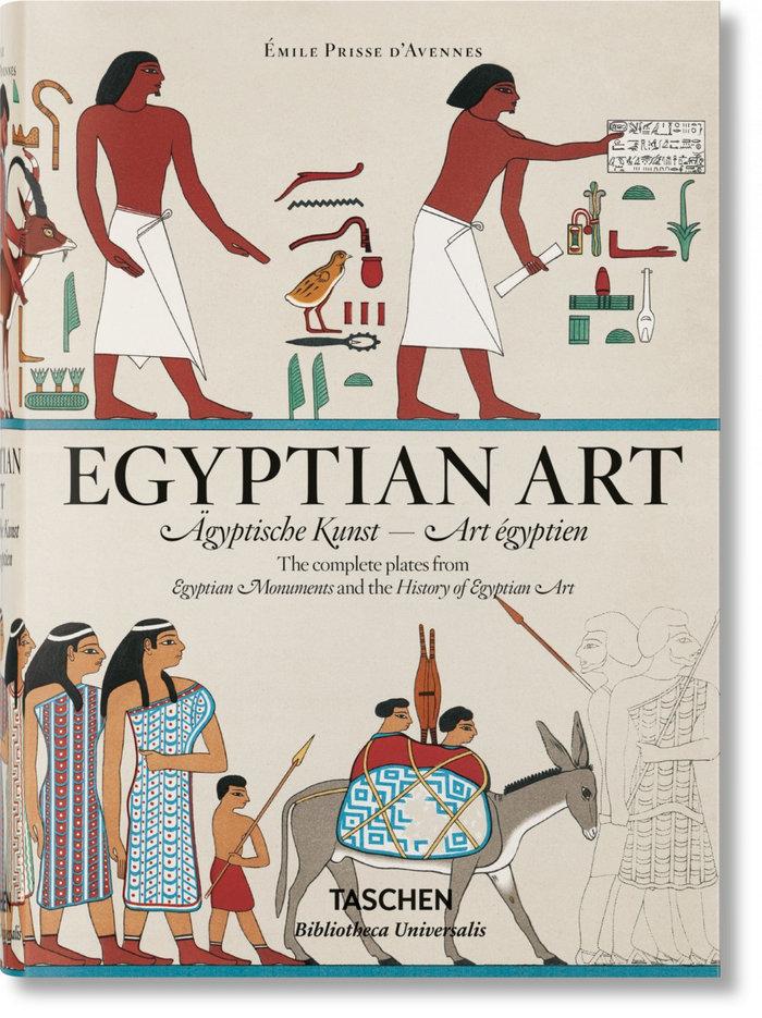 Prisse d'avennes egyptian art (al/fr/in)