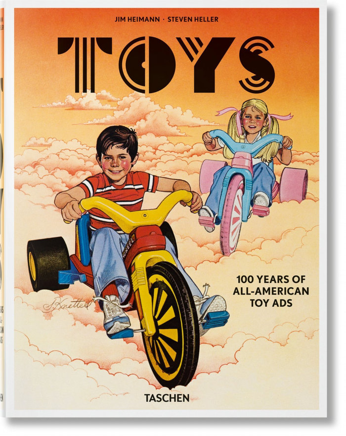 Toys 100 years of all american toy ads ingles
