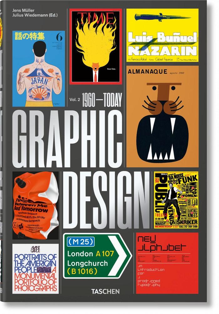 Historia del diseño grafico vol.2 1960 hasta hoy (es/it/in)