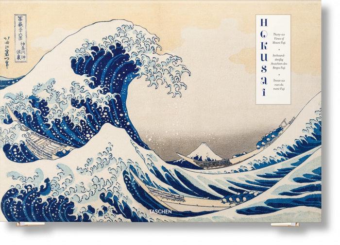 Hokusai treinta y seis vistas del monte fuji