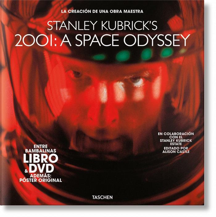 2001 una odisea del espacio de kubrick libro y dvd