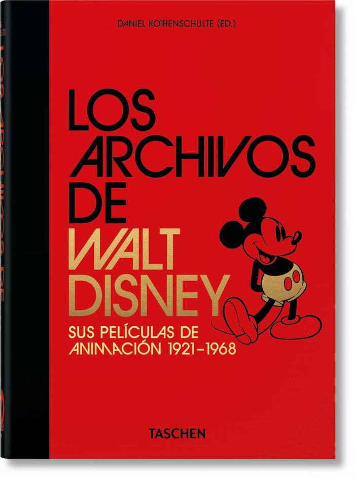 Archivos de walt disney sus peliculas de animacion 40th