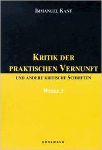 Kritik der praktischen vernunft vol.iii