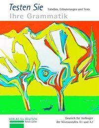 Die grammatik-plakate testheft