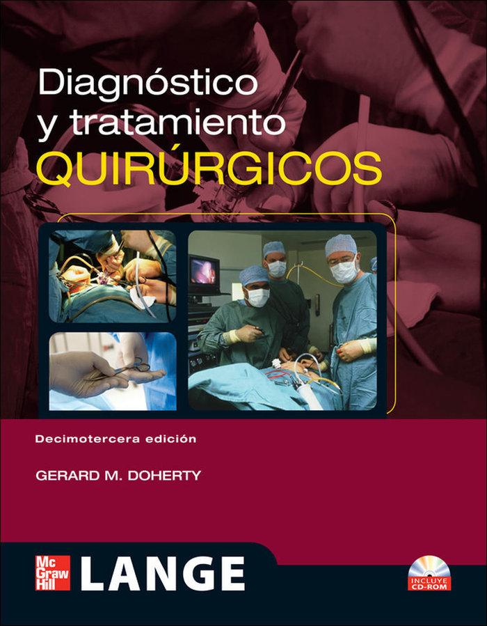 Diagnostico y tratamiento quirurjicos 13ºed