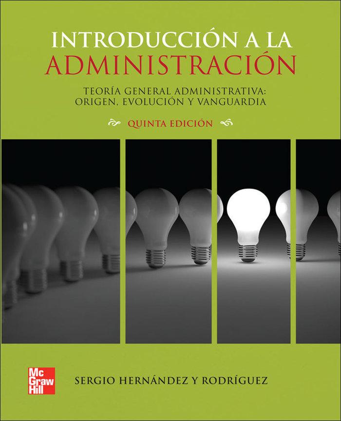 Introduccion a la administracion teoria general administrati
