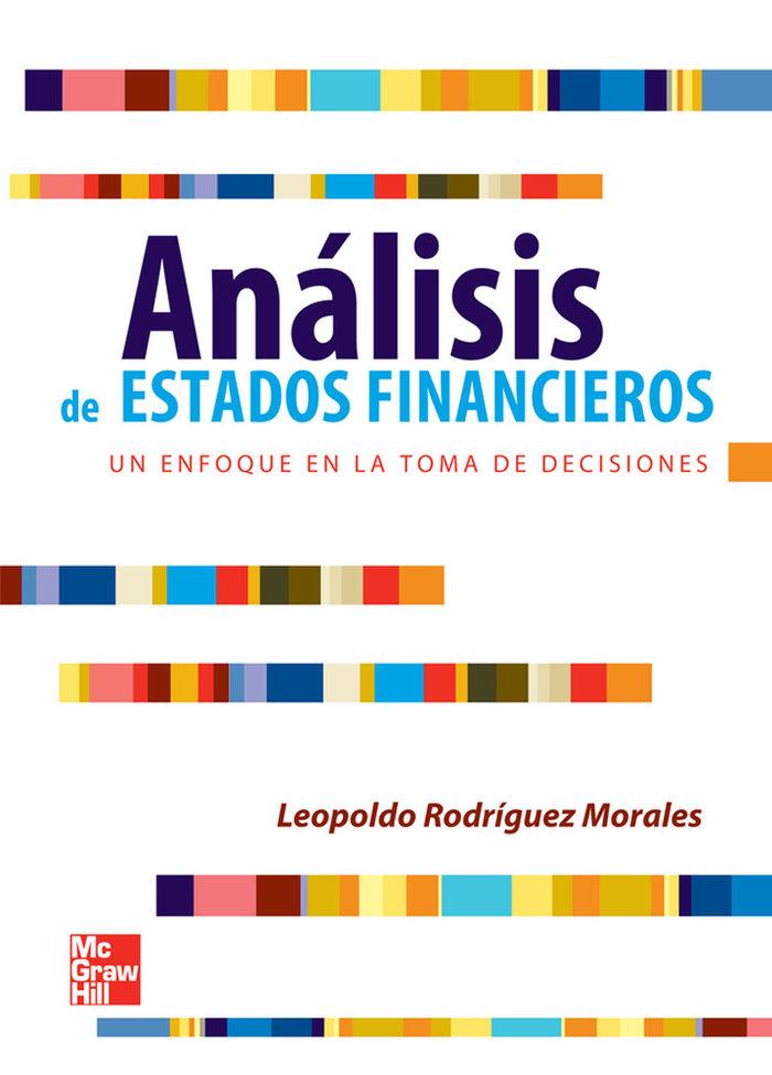 Analisis de estados financiero