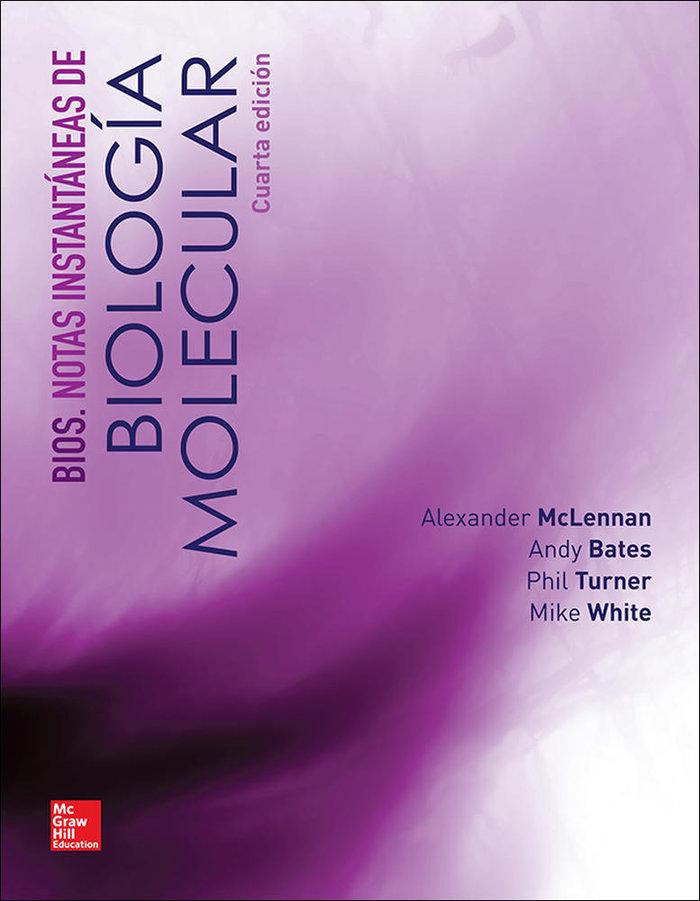 Notas instantaneas de biologia molecular 4ºed