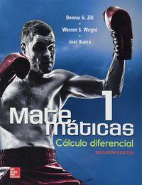 Matematicas 1 calculo diferencial