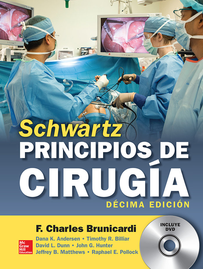 Schwartz principios de cirugia 10º edicion