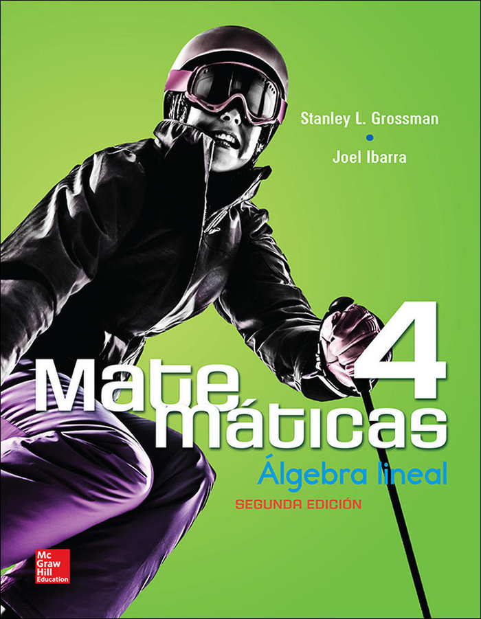 Matematicas 4 algebra lineal 2ª edicion