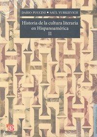 Historia de la cultura literaria en hispanomerica ii