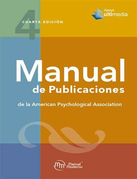 Manual apa 4ªedicion ingles