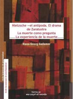 Nietzsche el antipoda el drama de zaratustra la muerte