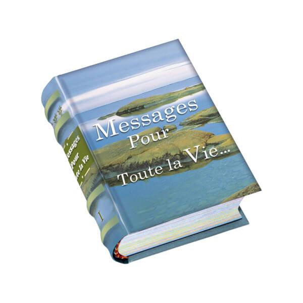 Messages por toute la vie (libro miniatura)