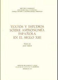 Textos estudios astro.esp s.xiii