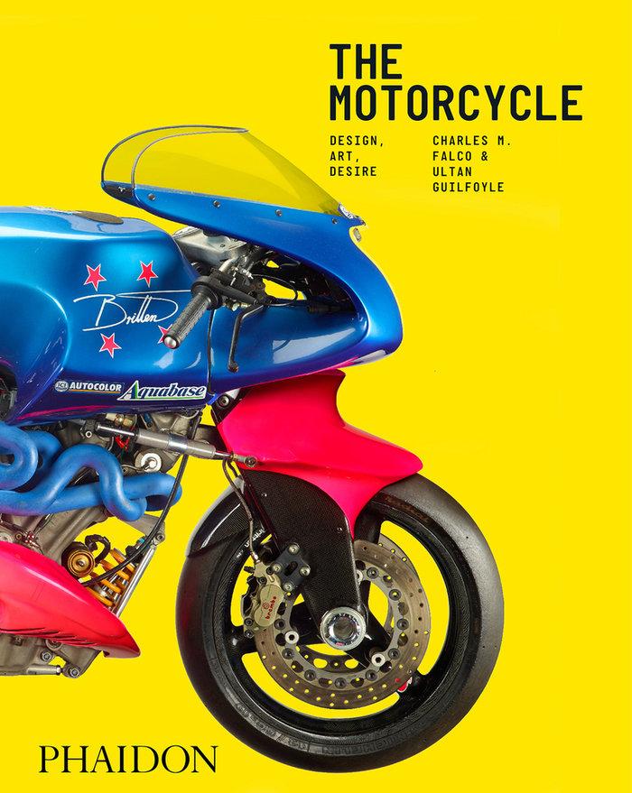 The motorcycle book design art desire