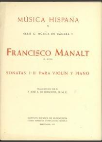 Sonatas i-ii para violin y piano