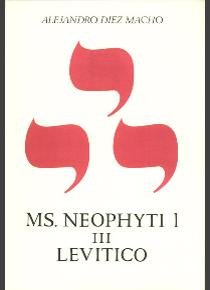 Neophyti targum iii levitico