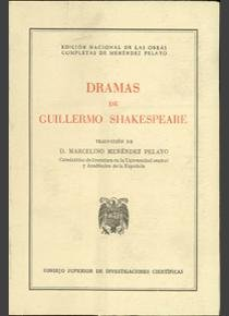 Dramas guillermo shakespeare