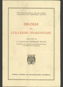 Dramas guillermo shakespeare